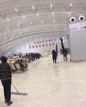 济南新东站安装吉之美温水机